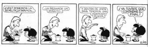 Mafalda. aprendizaje